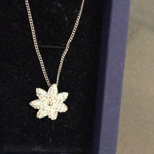 Swarovski necklace flower shape